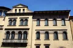 Ιστορικό παλάτι της Πάδοβας στο Βένετο (Ιταλία) Στοκ φωτογραφία με δικαίωμα ελεύθερης χρήσης