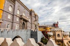 Ιστορικό παλάτι Pena στην Πορτογαλία Στοκ εικόνα με δικαίωμα ελεύθερης χρήσης