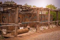Ιστορικό παλαιό Νέο Μεξικό Mesilla στοκ εικόνες με δικαίωμα ελεύθερης χρήσης
