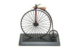 Ιστορικό ποδήλατο Farthing πενών Στοκ Εικόνες