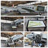 Ιστορικό πρόγραμμα Νέα Υόρκη αποκατάστασης αεροσκαφών Στοκ Φωτογραφίες