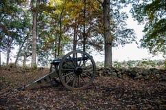 Ιστορικό πυροβόλο εμφύλιου πολέμου Gettysburg στοκ εικόνα