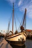 ιστορικό πλέοντας σκάφο&sigmaf Στοκ Εικόνες