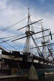 Ιστορικό σκάφος αστερισμού USS στη Βαλτιμόρη, Μέρυλαντ Στοκ Εικόνα