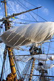ιστορικό σκάφος πανιών Στοκ εικόνα με δικαίωμα ελεύθερης χρήσης