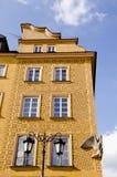 ιστορικό σπίτι Βαρσοβία στοκ εικόνα με δικαίωμα ελεύθερης χρήσης