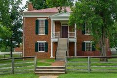 Ιστορικό σπίτι δικαστηρίου Appomattox Στοκ Εικόνα