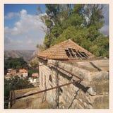 ιστορικό σπίτι παλαιό στοκ φωτογραφία με δικαίωμα ελεύθερης χρήσης