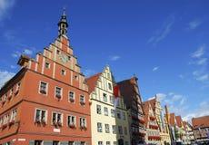 ιστορικό σπίτι προσόψεων Στοκ Εικόνες