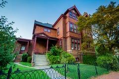 Ιστορικό σπίτι σε Annapolis, Μέρυλαντ Στοκ εικόνα με δικαίωμα ελεύθερης χρήσης