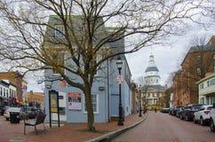 Ιστορικό σπίτι σε Annapolis Στοκ φωτογραφία με δικαίωμα ελεύθερης χρήσης