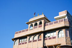 Ιστορικό σπίτι στο Jaipur, Ινδία στοκ φωτογραφίες