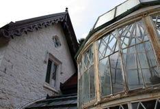 ιστορικό σπίτι Στοκ φωτογραφία με δικαίωμα ελεύθερης χρήσης