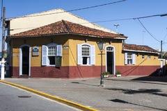 Ιστορικό σπίτι Itanhaem Σάο Πάολο Βραζιλία στοκ φωτογραφίες με δικαίωμα ελεύθερης χρήσης