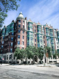 Ιστορικό συγκρότημα κατοικιών στην Κοινοπολιτεία Ave στοκ φωτογραφία με δικαίωμα ελεύθερης χρήσης
