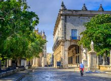 ιστορικό τέταρτο της Αβάνας, Κούβα στοκ φωτογραφία με δικαίωμα ελεύθερης χρήσης