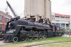 Ιστορικό τραίνο στο Τορόντο, Καναδάς Στοκ Εικόνες