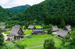 Ιστορικό χωριό της Ιαπωνίας Στοκ φωτογραφίες με δικαίωμα ελεύθερης χρήσης