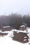 Ιστορικό χωριό Gokayama Στοκ Φωτογραφία