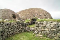 Ιστορικό Arnol Blackhouse, Σκωτία Στοκ φωτογραφία με δικαίωμα ελεύθερης χρήσης
