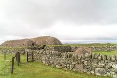 Ιστορικό Arnol Blackhouse, Σκωτία Στοκ Φωτογραφία