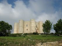 Ιστορικό castel del monte Στοκ Εικόνες
