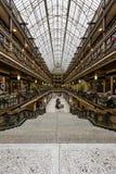 Ιστορικό Euclid Arcade - στο κέντρο της πόλης Κλίβελαντ, Οχάιο Στοκ εικόνες με δικαίωμα ελεύθερης χρήσης