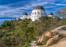 Ιστορικό Griffith παρατηρητήριο στοκ φωτογραφίες