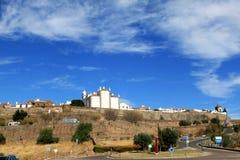 ιστορικό monsaraz πορτογαλικά φ στοκ φωτογραφία