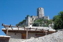 Ιστορικό Počitelj, Βοσνία-Ερζεγοβίνη Στοκ Εικόνες