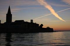 Ιστορικό Porec στην Κροατία Στοκ φωτογραφία με δικαίωμα ελεύθερης χρήσης