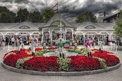 Ιστορικό Racecourse Saratoga στοκ εικόνες με δικαίωμα ελεύθερης χρήσης