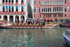 ιστορικό regatta Βενετία Στοκ Εικόνες
