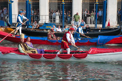 ιστορικό regatta Βενετία Στοκ εικόνες με δικαίωμα ελεύθερης χρήσης
