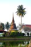 ιστορικό sukhothai πάρκων Στοκ Εικόνα