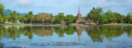 ιστορικό sukhothai Ταϊλάνδη πάρκων Στοκ φωτογραφίες με δικαίωμα ελεύθερης χρήσης
