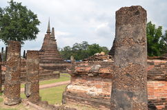 ιστορικό sukhothai Ταϊλάνδη πάρκων Στοκ Φωτογραφία