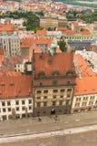 Ιστορικό Townhall Plzen, Τσεχία Στοκ Φωτογραφίες