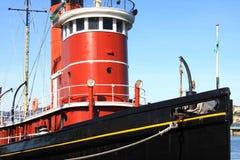 Ιστορικό Tugboat Στοκ εικόνες με δικαίωμα ελεύθερης χρήσης