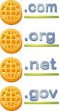 ιστοχώρος Διαδικτύου ε απεικόνιση αποθεμάτων