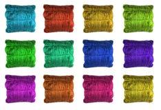 ιστοχώρος μαξιλαριών κουμπιών Στοκ Εικόνες