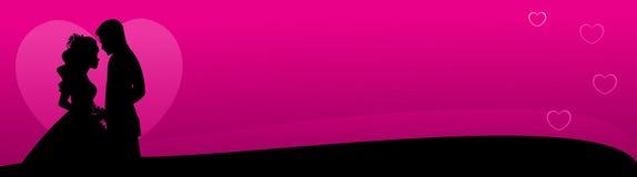 Ιστός αγάπης επικεφαλίδ&omega Στοκ Φωτογραφία
