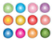 Ιστός απεικόνισης κουμπ&iot Στοκ Εικόνα
