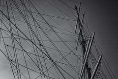 ιστός βαρκών Στοκ εικόνες με δικαίωμα ελεύθερης χρήσης