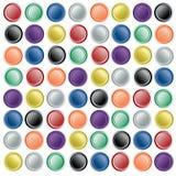 Ιστός εγγράφου κουμπιών Στοκ εικόνες με δικαίωμα ελεύθερης χρήσης