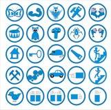 Ιστός εικονιδίων Στοκ φωτογραφία με δικαίωμα ελεύθερης χρήσης