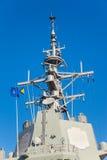 Ιστός ενός στρατιωτικού σκάφους Στοκ Εικόνα