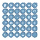 Ιστός κουμπιών ελεύθερη απεικόνιση δικαιώματος