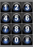 Ιστός κουμπιών Στοκ φωτογραφίες με δικαίωμα ελεύθερης χρήσης