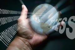 Ιστός μηνυτόρων HTTP Διαδίκτυο www Στοκ Φωτογραφίες